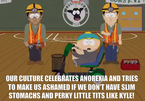 "Tonight's all-new South Park, ""Raising the Bar,"" is just a few more hours away. Fortunately, that still leaves enough time for you to watch the episode's new preview clip a few thousand times. Click the image to watch, then tune in tonight at 10/9c."