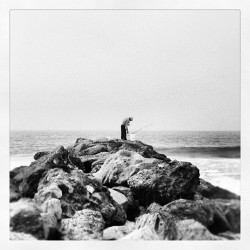 Old man and the sea (Taken with Instagram)