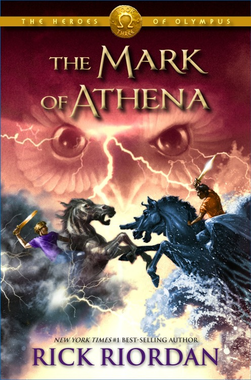 Review of The Mark of Athena by Rick Riordan! NO SPOILERS.  Annabeth is terrified. Just when she's about to be reunited with Percy—after six months of being apart, thanks to Hera—it looks like Camp Jupiter is preparing for war. As Annabeth and her friends Jason, Piper, and Leo fly in on the Argo II, she can't blame the Roman demigods for thinking the ship is a Greek weapon. With its steaming bronze dragon masthead, Leo's fantastical creation doesn't appear friendly. Annabeth hopes that the sight of their praetor Jason on deck will reassure the Romans that the visitors from Camp Half-Blood are coming in peace.And that's only one of her worries. In her pocket Annabeth carries a gift from her mother that came with an unnerving demand: Follow the Mark of Athena. Avenge me. Annabeth already feels weighed down by the prophecy that will send seven demigods on a quest to find—and close— the Doors of Death. What more does Athena want from her?Annabeth's biggest fear, though, is that Percy might have changed. What if he's now attached to Roman ways? Does he still need his old friends? As the daughter of the goddess of war and wisdom, Annabeth knows she was born to be a leader, but never again does she want to be without Seaweed Brain by her side.Narrated by four different demigods, The Mark of Athena is an unforgettable journey across land and sea to Rome, where important discoveries, surprising sacrifices, and unspeakable horrors await. Climb aboard the Argo II, if you dare… .In The Son of Neptune, Percy, Hazel, and Frank met in Camp Jupiter, the Roman equivalent of Camp Halfblood, and traveled to the land beyond the gods to complete a dangerous quest. The third book in the Heroes of Olympus series will unite them with Jason, Piper, and Leo. But they number only six—who will complete the Prophecy of Seven? The Greek and Roman demigods will have to cooperate in order to defeat the giants released by the Earth Mother, Gaea. Then they will have to sail together to the ancient land to find the Doors of Death. What exactly are the Doors of Death? Much of the prophesy remains a mystery… . With old friends and new friends joining forces, a marvelous ship, fearsome foes, and an exotic setting, The Mark of Athena promises to be another unforgettable adventure by master storyteller Rick Riordan. Summary from Goodreads   Hardcover, 608 pages Published October 2nd 2012 by Hyperion Book CH  This is the third book in The Heroes of Olympus series. And here are the things I liked about it: The pacing: It's an action-packed book that feels very much like a roller-coaster (not a bad thing, guys). There's always action in Riordan's books (which I love) that is always fun to read, even if the demigods in question are always in some type of danger. However, I found that the action does let up enough for some excellent character development. In this book, you get to see a new side to some of the characters that you love and it is refreshing. Riordan explores the characters by putting them in certain situations and letting them deal. This sheds light on their inner workings (ie their fears, and insecurities, as well as their flaws).  The alternating points of views: You get the POVs of four different characters in this book, which is immensely effective as far as a writing technique goes. While reading, though, you will be entertained by each of the character's diffrent voices.  The plot: is entertaining and full of suspense. We often find ourselves rooting for the seven demigods while witnessing their struggles as the plot gets more and more complicated. The obstacles that the demigods face are all satisfying to read about as well.  Riordan's sense of humor: only gets better and better. It comes through all the characters at some point or another, and it serves well to lighten the mood every now and then.  Something new from Riordan: At least, in my opinion. I don't think Riordan has ever focused so much on romantic relationships before. I think he managed just fine. He included some really good moments that shippers will freak over for ages. At least, until the new book comes out.  The cover art: IS BEAUTIFUL. My favorite of the series so far is the cover art for The Son of Neptune (book 2), but book 3 is a close second. I know a lot of people are worried about what the cover art means, but I'm glad to report that you'll find out early on in the book (you don't have to sit there in agony, waiting for it). The characters: I know I already talked about the characters and their development through this book, but I feel like I have to mention…Look, part of the reason why I fell in love with these books (starting with Percy Jackson and the Olympians series) was because the characters are all amazing people (mostly, I'm excluding Octavian and the villains). I love to read stories about kids and teens who are  courageous, smart, selfless, funny, loyal, caring and kind, and who are at the same time flawed (you know, I could go on but that'd just bore you). They're empowered individuals, though some times they don't feel like it. But mostly, they're very human (although much more badass than regular humans), and I really love that. Also, I love that these stories don't always exclude grown ups (I'm talking Percy's relationship with his mom). THE END: Oh my tears. It was a really good cliff-hanger/life-ruiner (refer to CassJayTuck's video for the definition of a life-ruiner).  -I'll be making a post soon about my feelings toward this book and the things that happened. I'll tag it as an MOAspoiler and use a 'read more' thingy.  To end this review: would I recommend this book? I sure as hell would. However, I recommend ALL the Rick Riordan books (with a special emphasis on the Percy Jackson and the Olympians series, and The Kane Chronicles—as well as the rest of the Heroes of Olympus series). Also: This is my review for The Son of Neptune. I never did one for The Lost Hero.