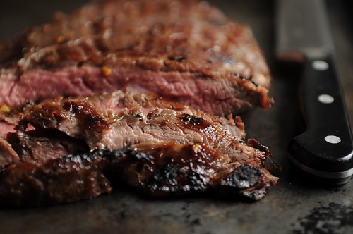 lacuisine:  Sugar Steak with Bourbon