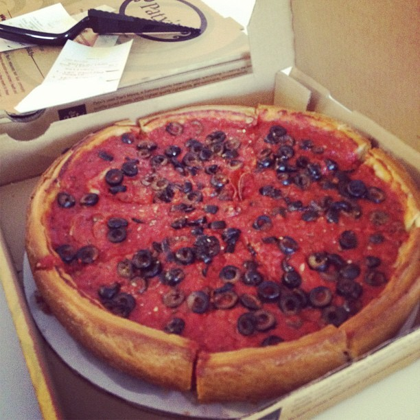 Isn't it lovely? Today, we're having Patxi's pizza for lunch. YUM (Taken with Instagram)
