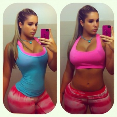 rufffn:  Kathy Ferreiro may have the hottest body ever