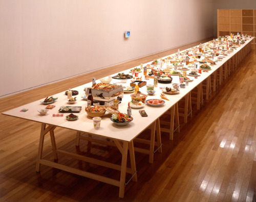 Rirkrit Tiravanija - Untitled (The Raw and the Cooked)