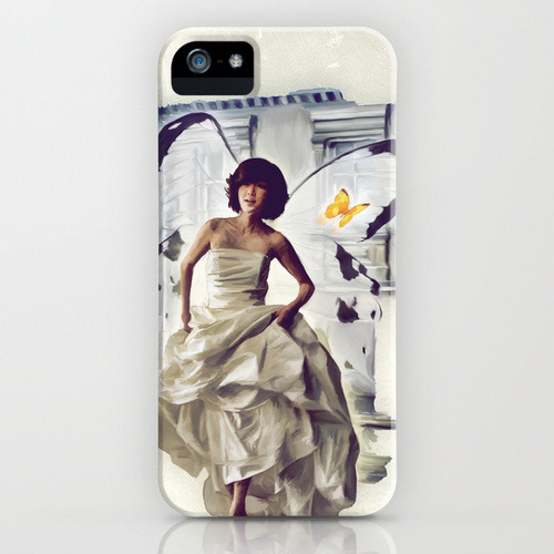 Butterfly Bride as iphonecase on society6 for all iphones