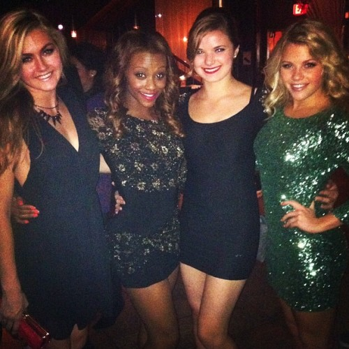Lindsay, Amber, Janaya and Sparkly Wit