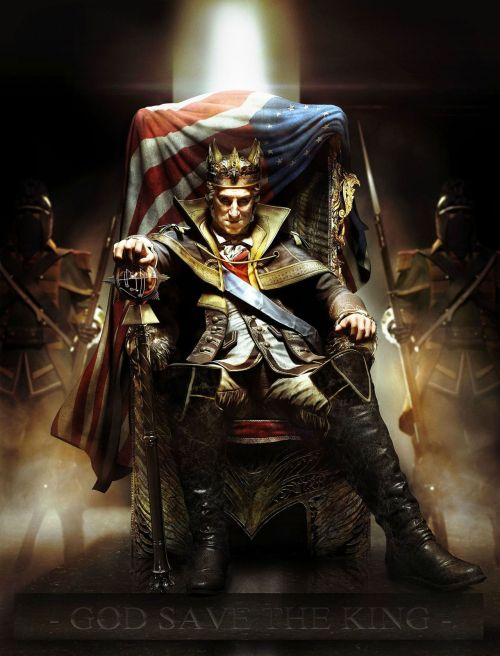 gamefreaksnz:  Assassin's Creed 3 season pass confirmed, first DLC is 'The Tyranny of King George' Today Ubisoft formally announced the Assassin's Creed 3 Season Pass for the game's downloadable content.  hooooooooooooly shit what?