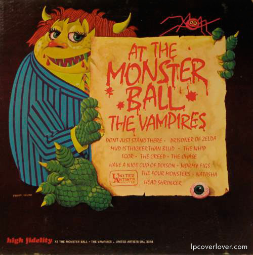 At The Monster's Ball by The Vampires (1964)