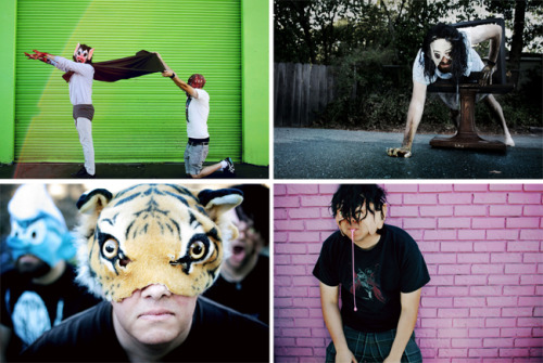 "Today JUXTAPOZ posted some out takes from my photoshoots with the featured artists in this months issue of Juxtapoz magazine. The non-outtakes (or ""intakes"" as they are never commonly referred to) are in the Halloween issue, out now!"