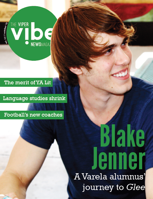 thevipervibe:  The Viper Vibe - Vol. 12, Issue 1 The first issue of this year's Viper Vibe is now up! Our main story is that of Blake Jenner, a former Viper whose dream-driven journey across the country landed him on Fox's Glee. He sat for an exclusive interview with the Viper Vibe, giving us a look into his struggles and success. You can find the full article here. Comments are encouraged! All other stories can be found here.  You can also check out the print version— featuring an exclusive Blake photo— here. What do you think? Let us know!