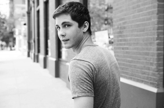 Logan Lerman in the new issue of Wonderland Magazine.