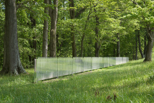 remash:  mirror fence ~ alyson shotz