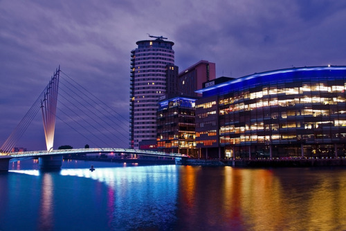 johnflindt:  Salford Quays on Flickr.