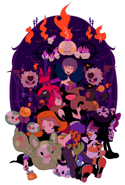 in honor of halloween! by marucoism