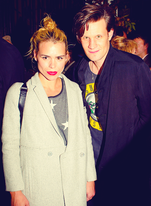 doctorwho:  Billie and Matt