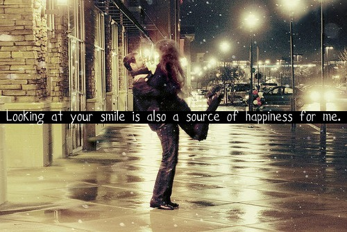(via Looking at your smile is also a source of happiness for me | Best Tumblr Love Quotes)