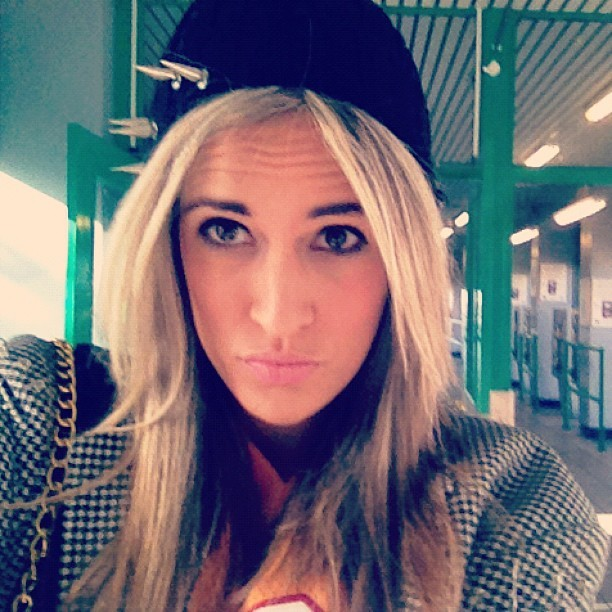 #new #hat #straight #face #blazer #jersey #blonde #face #fashion #hashtag #galore lol #stylist #charliefi #beanie #grumpy  (Taken with Instagram)
