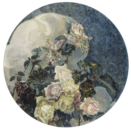 Roses and Orchids, 1894. Mikail Vrubel