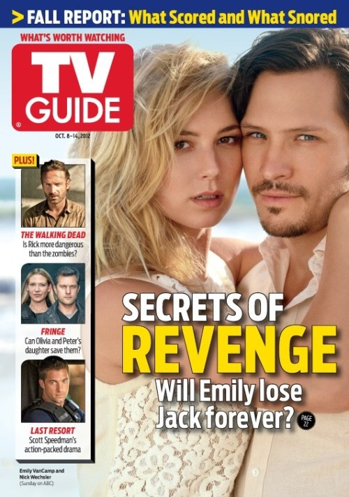 Revenge - TV Guide cover