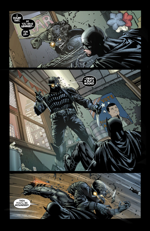 Batman, Talon from Batman: The Dark Knight #9 art by David Finch / Richard Friend (C) DC 2012