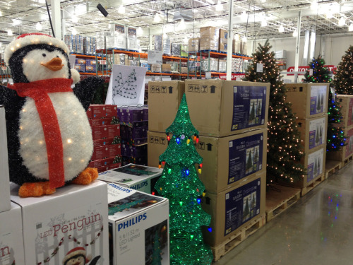 Looks like Costco is skipping right past Halloween.