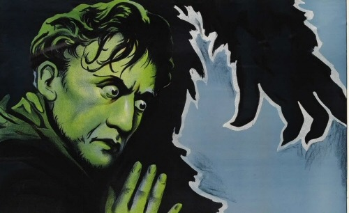 needcoffee:  THE MONSTER WALKS from 1932 is our Movie Night #4 pick for 32 Days of Halloween. Because before 1950 it was illegal to read a will anywhere but a large, foreboding house with a storm raging outside and a potentially dangerous animal inside.