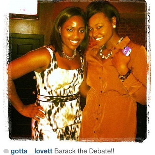 Y&P. Barack the Debate. #repost via @gotta__lovett  (Taken with Instagram)