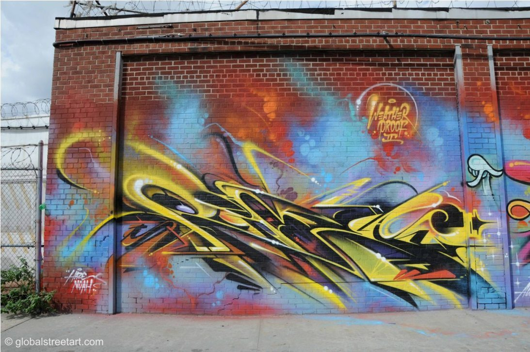 Heading to NY on Friday - can't wait! This piece by Rime was in Brooklyn last time I went! Check this site for more graffy goodness: http://jerseyjoeart.com/.