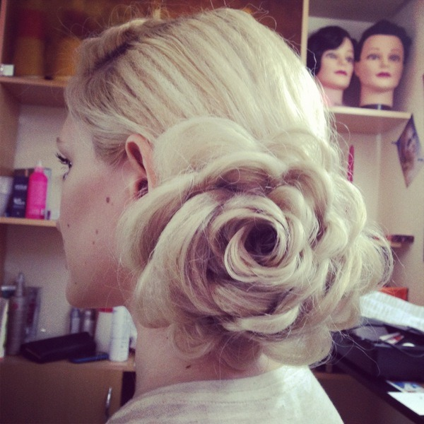 This is amazing. And it's all her hair. How do you do this!? (via Vlada F. | Beautylish)