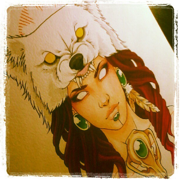 Finally dug this piece back out too. Time to finish it. #AVA  (Taken with Instagram)