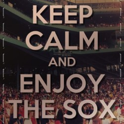 Farewell . Next season's sure gonna be great. Looking forward to it - #redsoxnation #redsox #boston #mlb #baseball #sox #fenwaypark #keepcalm #bestfans #notbandwagoners #game162 #farewell (Taken with Instagram)