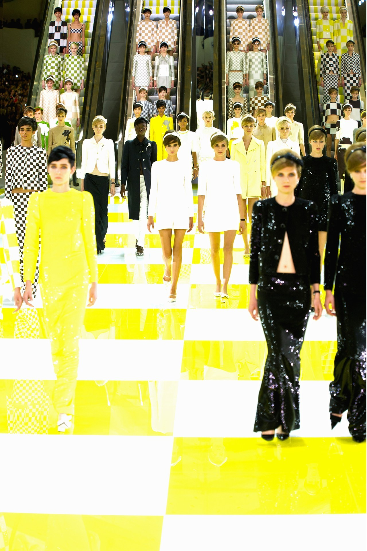 suicideblonde:  Louis Vuitton Spring/Summer 2013