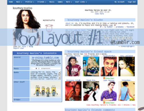 So basically my layout on Roleplayer has been going around and I just want to take credit for it because I did make it but I want to share it with anybody that wants it. So here it is! Enjoy. :)   preview | code *I also just realized I spelled the url wrong on the picture, except I'm too lazy to fix it so. whooops.