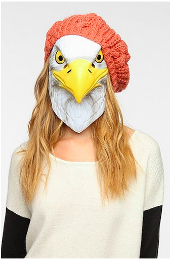 Im going to be a sexy, hip eagle for Halloween this year thanks to Urban Outfitters.
