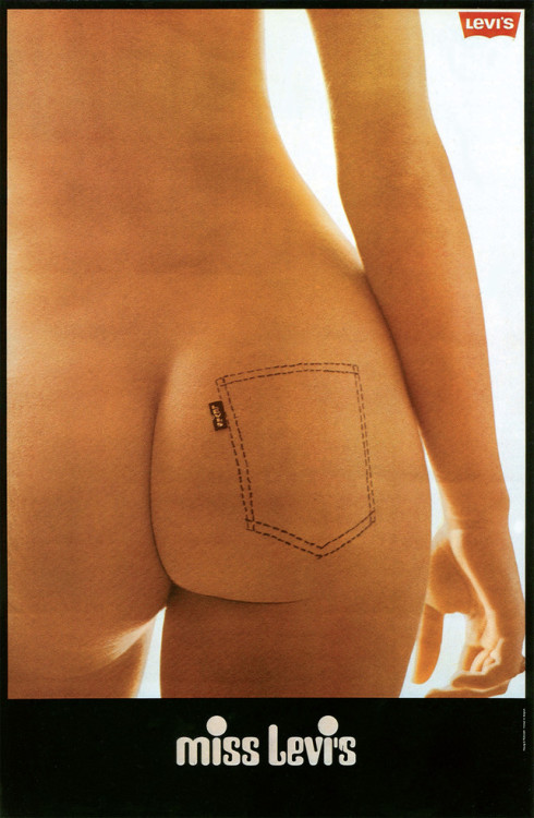 Miss LEVI'S advert from the 70s