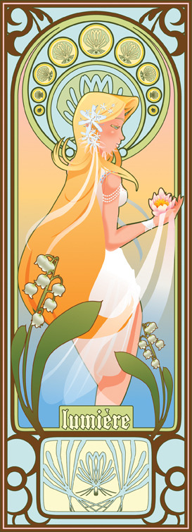 Mucha inspired by Craig Greene