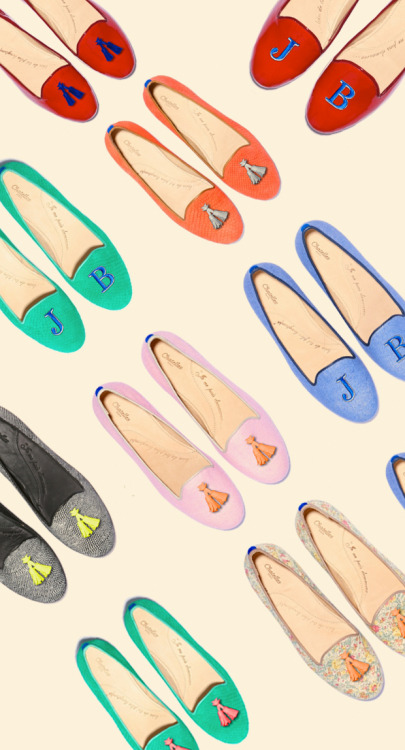 Chatelles flats via Justina Blakeney