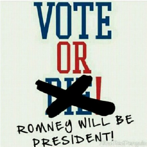 #Truth #RealTalk #Obama2012 #Vote #Debates  (Taken with Instagram)
