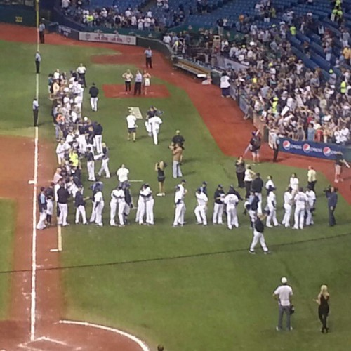 raysbaseball:  Love our #Rays!! Great season!! (Taken with Instagram)