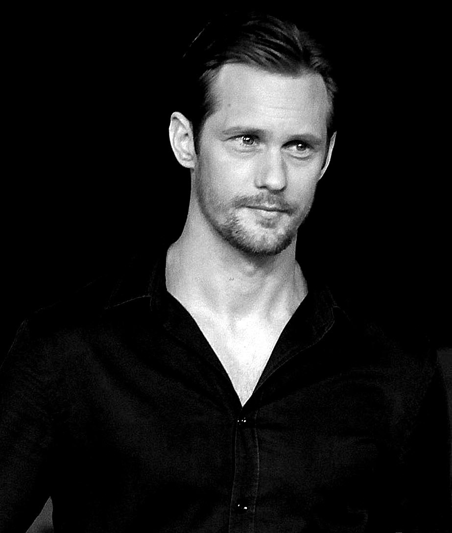 santress:  Alexander Skarsgard - Roma Fiction Fest (October 3, 2012). Original courtesy of Just Jared