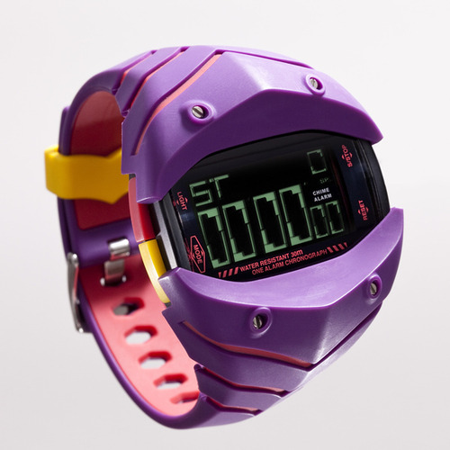 "superboynyc:  Kotobukiya Evangelion Watch Project ""Eva-W01"" wrist watch   WHAT WANT"