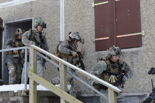 Still one of my favorite pictures. Army SF exercise.