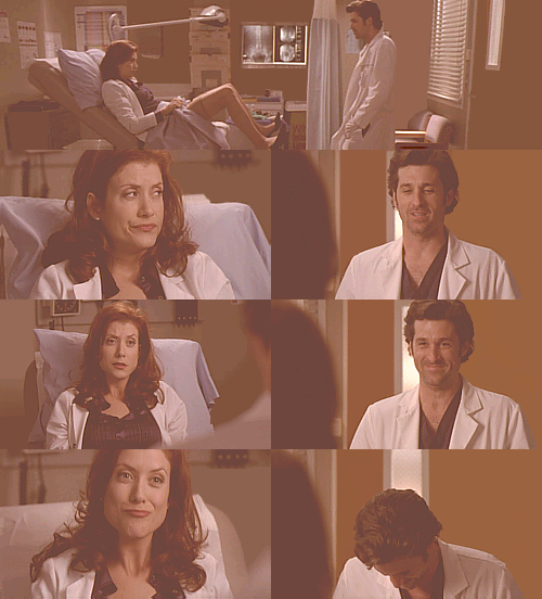 Addison x Derek 2.19 - What Have I Done to Deserve This Stay where you are. Promise. I'm going to show something. You do not get to laugh. You do not get to gloat… I have poison oak. What? You do indeed have poison oak. So are we even yet? Is this bad enough? Have I repaid my debt to society, Derek?