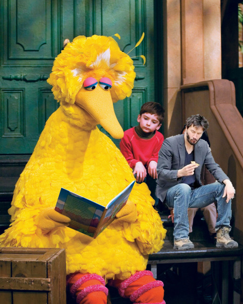 Sad Street. #SadBigBird and #SadKeanu both sad by Mitt's pledge to cut funding for PBS.