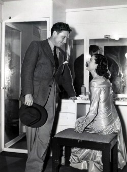 Spencer Tracy and Rosalind Russell.