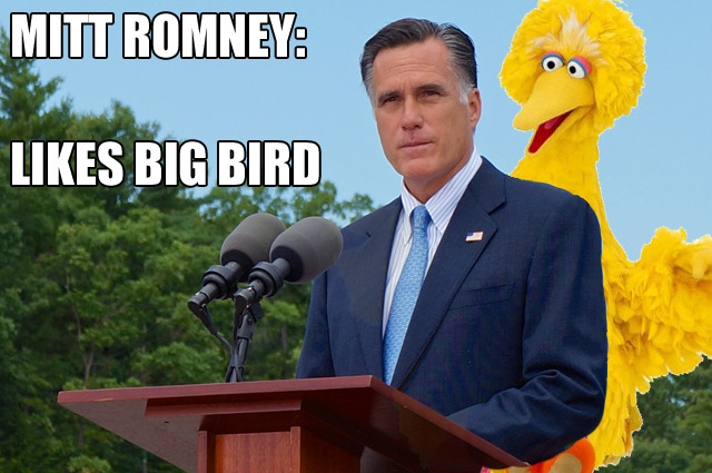 "So who had the over/under on ""Big Bird?"""