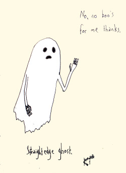 thecio:  Straight edge ghost is also funny.