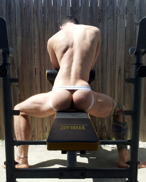 supervillainl:  Wants to offer his hot ass as a workout option.