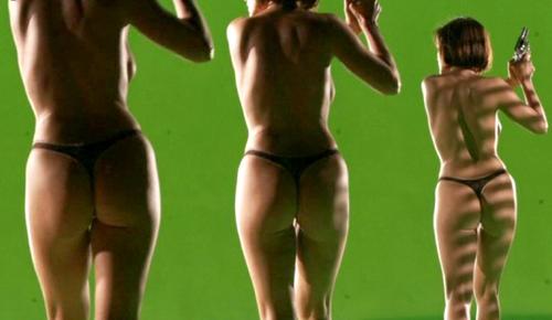 Carla Gugino Nude Green Screen 117