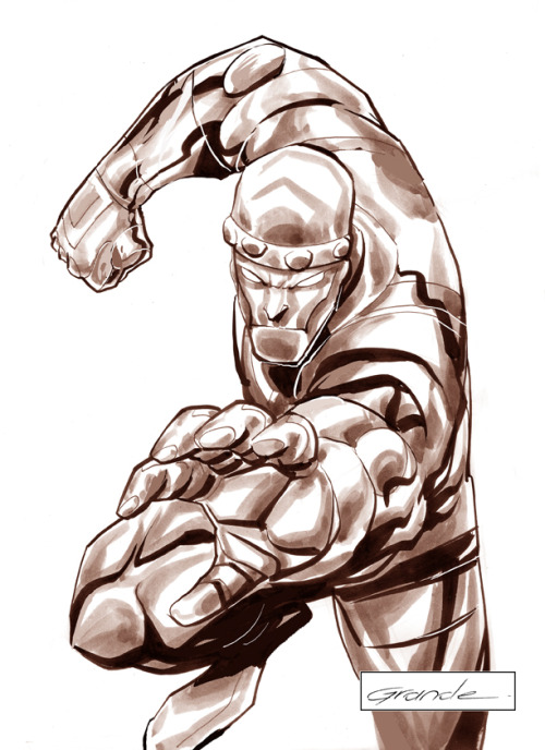 Cliff Steel, Robotman.  By J.C. Grande.
