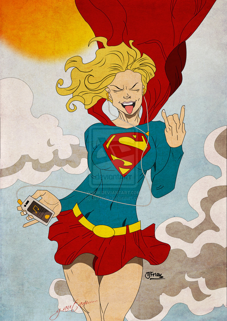 Rocking Day (Supergirl Rocks! by *guinnessyde) by ~GTR26 Sketching By Guinnessyde http://guinnessyde.deviantart.com/gallery/